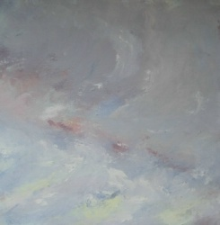 Cloud – October oil on canvas
