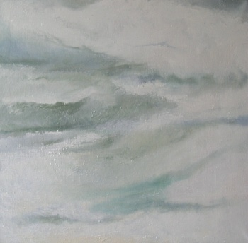 Cloud – over Norfolk oil on canvas