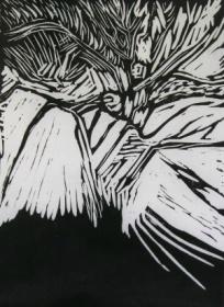 Wildwood – Linocut