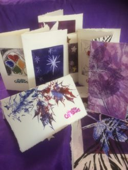 examples of hand printed cards